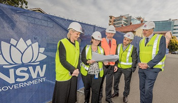 Local member visits redevelopment site